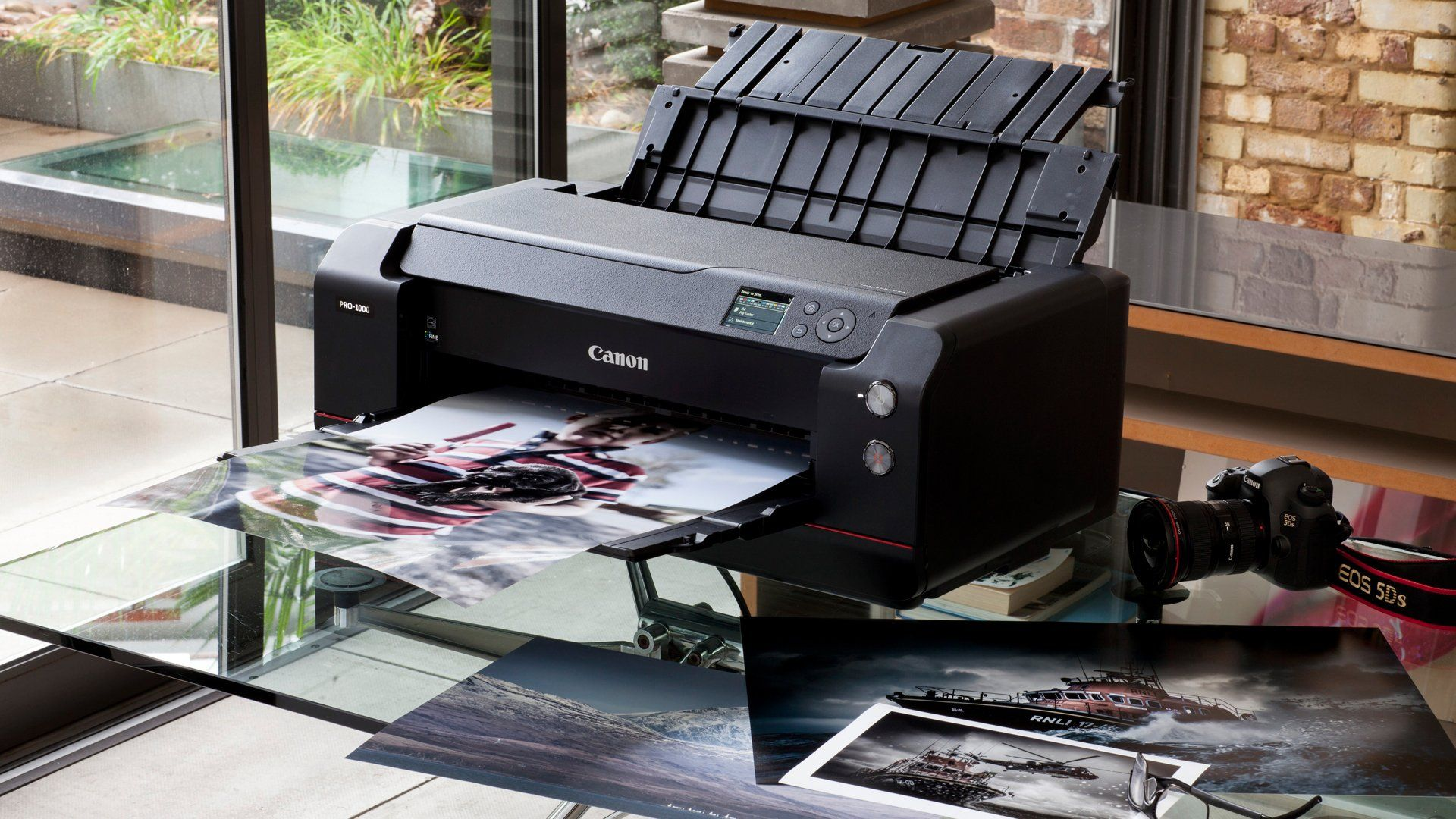 A large high-res fine art photograph bring printed from a Canon imagePROGRAF PRO-1000